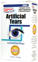 Artificial Tears Lubricant Eye Drops 15 ml [095072008603]