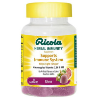Ricola Herbal Immunity Supports Immune System, Citrus 24 oz [036602311916]