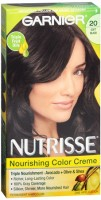 Nutrisse Haircolor - 20 Black Tea (Soft Black) 1 Each [603084055937]