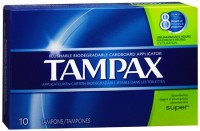 Tampax Tampons Super 10 Each [073010314092]