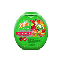 Gain Flings Original HE Capsules Laundry Detergent,  72 ea [037000916277]