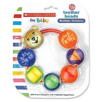 Baby King Scholastic Teether Beads 1 ea [094606774069]