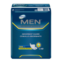 Tena Incontinence Guards for Men, Moderate Absorbency, 48 Count [768702527002]