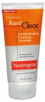 Neutrogena Rapid Clear Oil-Eliminating Foaming Cleanser 6 oz [070501025802]