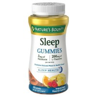 Nature's Bounty Sleep Gummies, Tropical Punch Flavored 60 ea [074312593871]