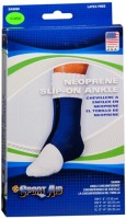 Sport Aid Neoprene Slip-On Ankle Support X-Large 1 Each [763189017787]