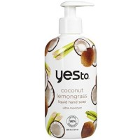 Yes To Liquid Hand Soap, Coconut Lemongrass 12 oz [815921015596]