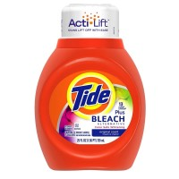 Tide Laundry Detergent Plus Bleach Alternative 25 oz [037000137849]