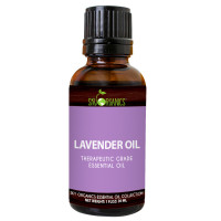 Sky Organics Therapeutic Grade Lavender Essential Oil, 1 oz. [856045007159]