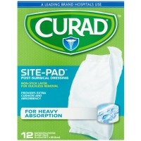 Curad Sitepad Surgical Dressings 5 Inches X 9 Inches 12 Each [080196305028]