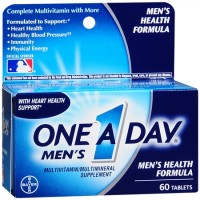 One-A-Day Men's Health Formula Tablets 60 Tablets [016500080046]