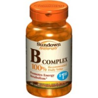 Sundown B Complex Tablets 60 Tablets [030768472023]