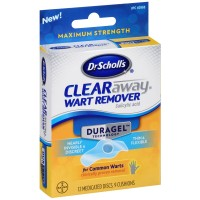 Dr. Scholl's Duragel ClearAway Wart Remover Kit 1 ea [011017409687]