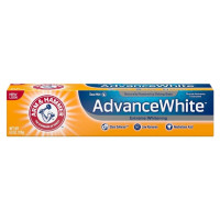 ARM & HAMMER Advance White Extreme Whitening Toothpaste with Baking Soda & Peroxide, Fresh Mint 6 oz [033200186267]