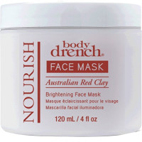 Body Drench Nourish Australian Red Clay Brightening Face Mask 4 oz [653619101684]