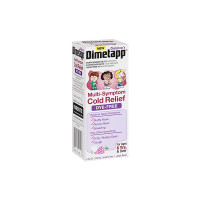 Dimetapp Children's Multi-Symptom Relief Liquid Dye-Free, Grape Flavor, 4 oz  [300312295126]