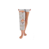 "ProCare 79-80020 3-Panel Knee Splint with Cotton/Terry Liner, Universal, 29"" Thigh Circumference, 20"" Length - 1 ea [888912026703]"