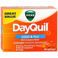 Vicks Dayquil Cold & Flu Relief LiquiCaps 48 ea [323900014442]