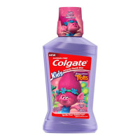 Colgate Kids Mouthwash, Trolls - 500 mL 16.9 oz [035000450555]