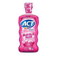 ACT Kids Anticavity Fluoride Rinse, Bubble Gum Blow Out 16.9 oz [041167094440]