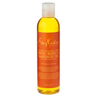 Shea Moisture Argan Oil & Raw Shea Bath, Body & Massage Oil 8 oz [764302280163]