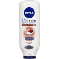 NIVEA In-Shower Body Lotion, Cocoa Butter 13.50 oz [072140019396]