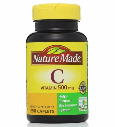 Nature Made Vitamin C 500 mg Caplets 250 ea [031604014865]