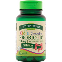 Nature's Truth Probiotic Kids Chewable Tablets, Natural Berry 30 ea [840093101846]