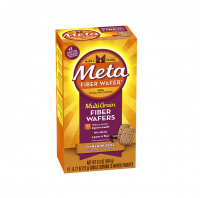 Metamucil MultiGrain Fiber Wafers, Cinnamon Spice 24 ea [037000740926]