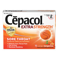 Cepacol Extra Strength Lozenges Tangerine 16 Ct. [363824768168]