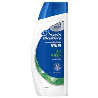 Head & Shoulders Refresh 2-In-1 Dandruff Shampoo + Conditioner 13.50 oz [037000062103]