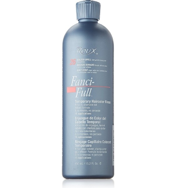 roux fanci full temporary hair color rinse golden spell