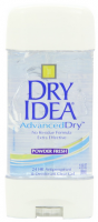 Dry Idea Advanced Dry Antiperspirant & Deodorant Clear Gel, Powder Fresh 3 oz [017000068244]
