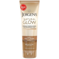 Jergens Natural Glow Daily Moisturizer Revitalizing Medium/Tan Skin Tones 7.50 oz [019100110625]