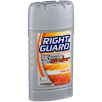 Right Guard Xtreme Heat Shield Invisible Solid Antiperspirant & Deodorant, Mirage 2.6 oz [017000117379]