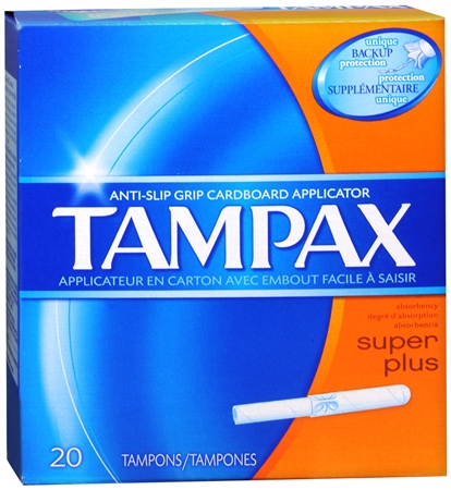 Tampax Tampons Super Plus 20 Each [073010480100]