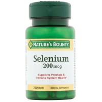 Nature's Bounty Selenium 200 mcg Tablets 100 ea [074312032011]