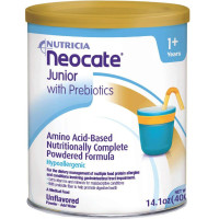 Neocate Junior with Prebiotics, Unflavored, 14.1 oz [749735029121]