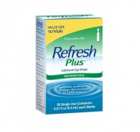 REFRESH PLUS Lubricant Eye Drops Single-Use Containers 50 Each [300235487509]