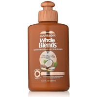 Garnier  Whole Blends Smoothing Leave-in Conditioner, Coconut Oil & Cocoa Butter 10.20 oz [603084462070]