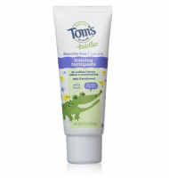 Tom's of Maine Toddler Fluoride Free Training Toothpaste, Mild Fruit 1.75 oz [077326833773]