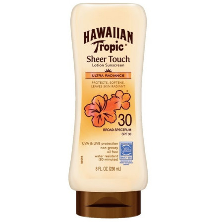 Hawaiian Tropic Sheer Touch, Lotion Sunscreen Ultra Radiance SPF 30, 8 oz [075486087470]