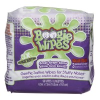 Boogie Wipes Gentle Saline Wipes, Grape 90 ea [816167011472]
