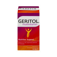 Geritol Multivitamin Nutrition Support Tablets 100 ea  [346017011104]