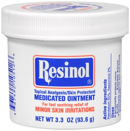 Resinol Medicated Ointment 3.30 oz [367492105126]