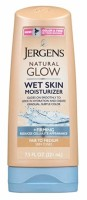 Jergens Natural Glow Wet Skin Moisturizer Fair To Medium 7.5 oz [019100252646]