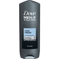 Dove Men + Care Body and Face Wash, Cool Fresh 18 oz [011111438798]