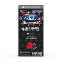 Pedialyte AdvancedCare Plus Powder Berry Frost, 6 ea  [070074669700]