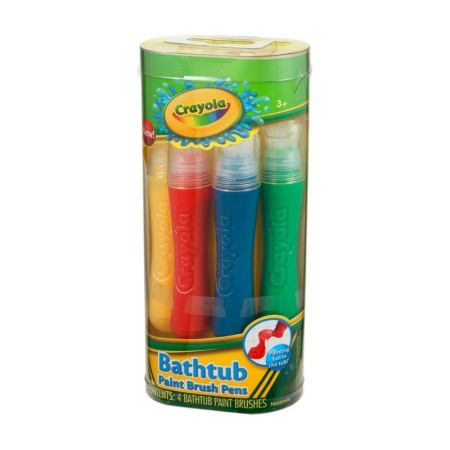 Crayola Bathtub Paint Brush Pens 4 ea [692237084795]