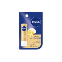 Nivea Vanilla Buttercream Lip Care, 0.17 oz  [072140022921]